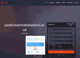 positiveanimalsolutions.co.uk