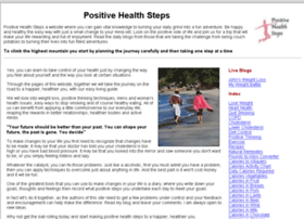 positivehealthsteps.com