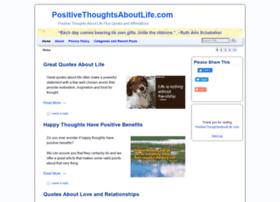 positivethoughtsaboutlife.com