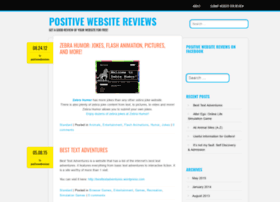 positivewebsitereviews.wordpress.com