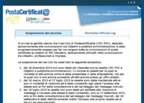 postacertificata.gov.it
