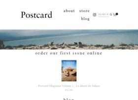 postcard-magazine.com