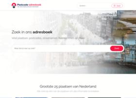 postcode-adresboek.nl