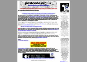 postcode.org.uk