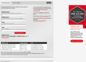 postcodefinderpreprod.royalmail.com