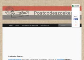 postcodeszoeker.nl