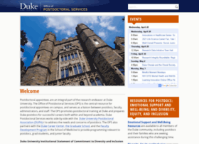 postdoc.duke.edu