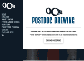 postdocbrewing.com