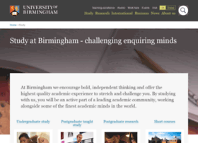 postgraduate.bham.ac.uk