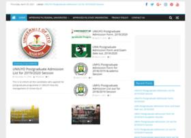 postgraduate.com.ng