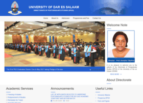 postgraduate.udsm.ac.tz