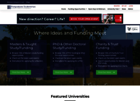 postgraduatestudentships.co.uk