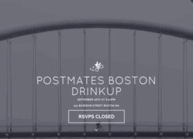 postmatesboston.splashthat.com