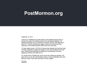 postmormon.org