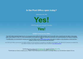 postofficeopen.com
