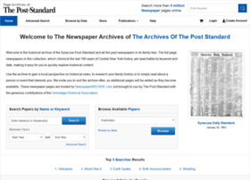 poststandard.newspaperarchive.com