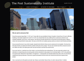 postsustainabilityinstitute.org