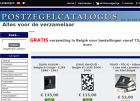 postzegelcatalogus.be