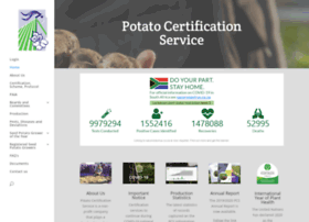 potatocertification.co.za