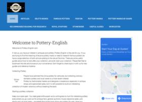 pottery-english.com