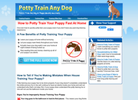 potty-train-dogs.com