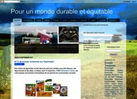pourunmondedurable.blogspot.com