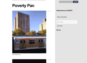 povertypan-blog.tumblr.com