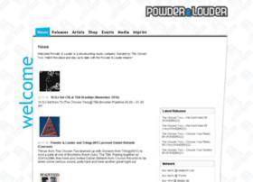 powderandlouder.de