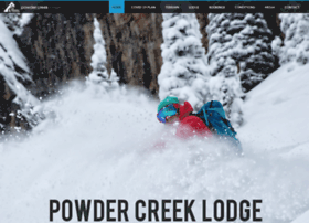 powdercreeklodge.com