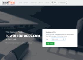 powderedfoods.com