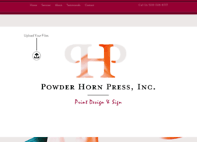 powderhornpress.com