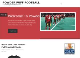 powderpufffootball.org