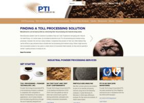 powdertechnologyinc.com