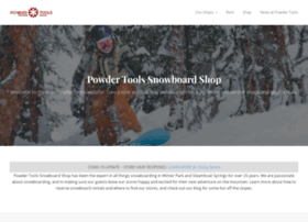 powdertools.com