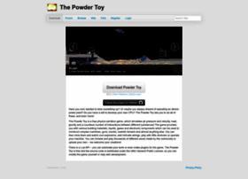 powdertoy.co.uk