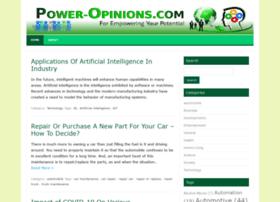 power-opinions.com