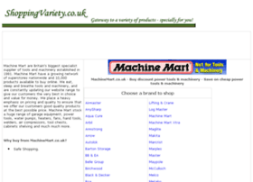 power-tools-machinery.shoppingvariety.co.uk