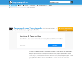 power-video-karaoke.programas-gratis.net