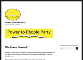 power2peopleparty.com.au