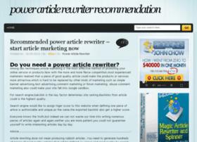 powerarticlerewriter.org