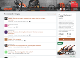 powerequipmentforum.com