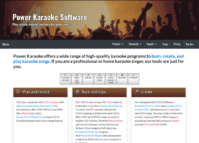 powerkaraoke.net
