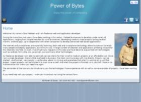 powerofbytes.com