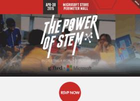 powerofstem.splashthat.com