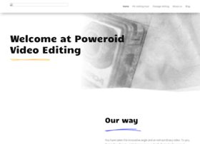 poweroid-video-editing.co.uk