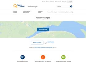 poweroutages.hydroquebec.com