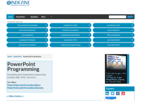 powerpointprogram.indezine.com
