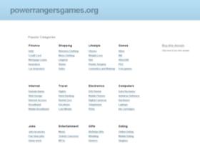 powerrangersgames.org