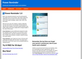 powerreminder.com