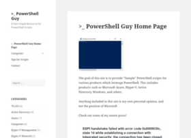 powershellguy.com
